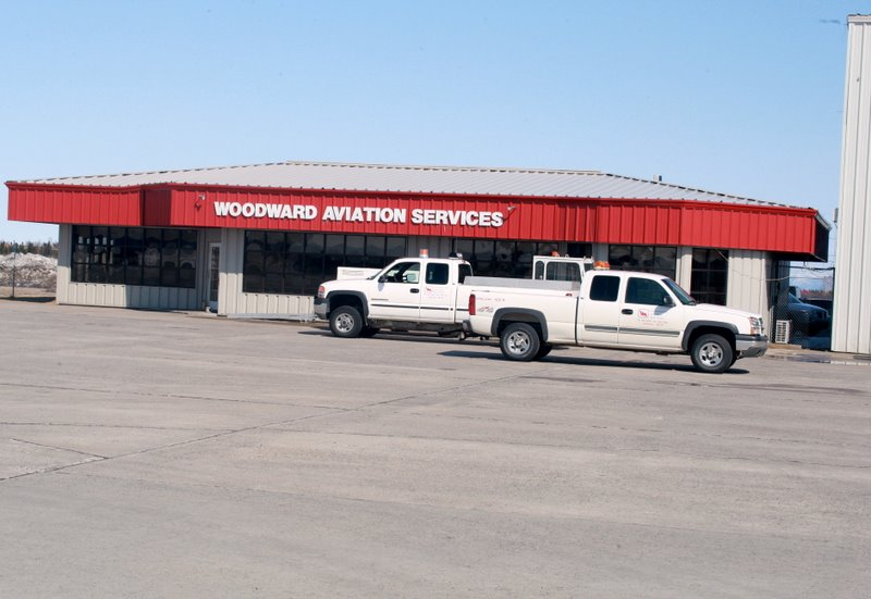Woodward Aviation our agent who supplied the fuel in Goose Bay
