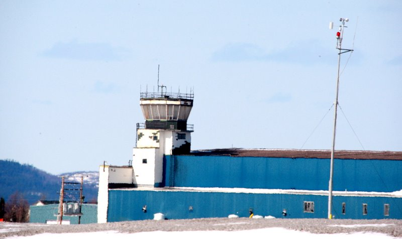 The tower at Goose Bay, Canada