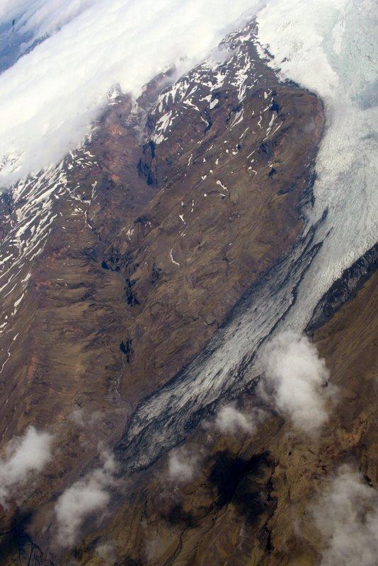 Glacier on East side of Greenland